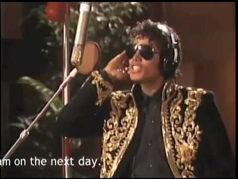 MICHAEL JACKSON - WE ARE THE WORLD - STUDIO SESSION