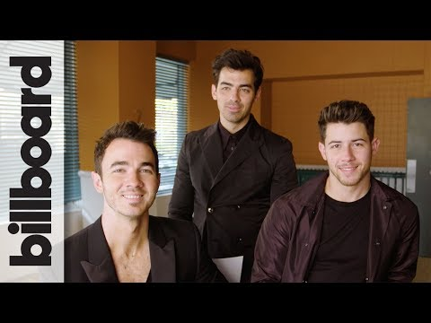 Jonas Brothers Joke About Pranking Each Other & Laugh at Their 2000s Haircuts   Billboard