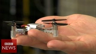 Flying robots inspired by nature – BBC News