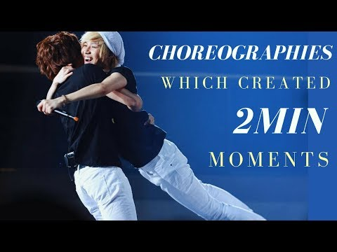 Choreographies which created 2min moments