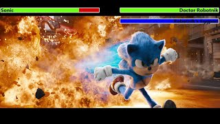 Sonic the Hedgehog (2020) Final Battle with healthbars