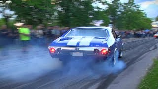 The Ultimate MUSCLE CAR BURNOUTS Compilation 2017