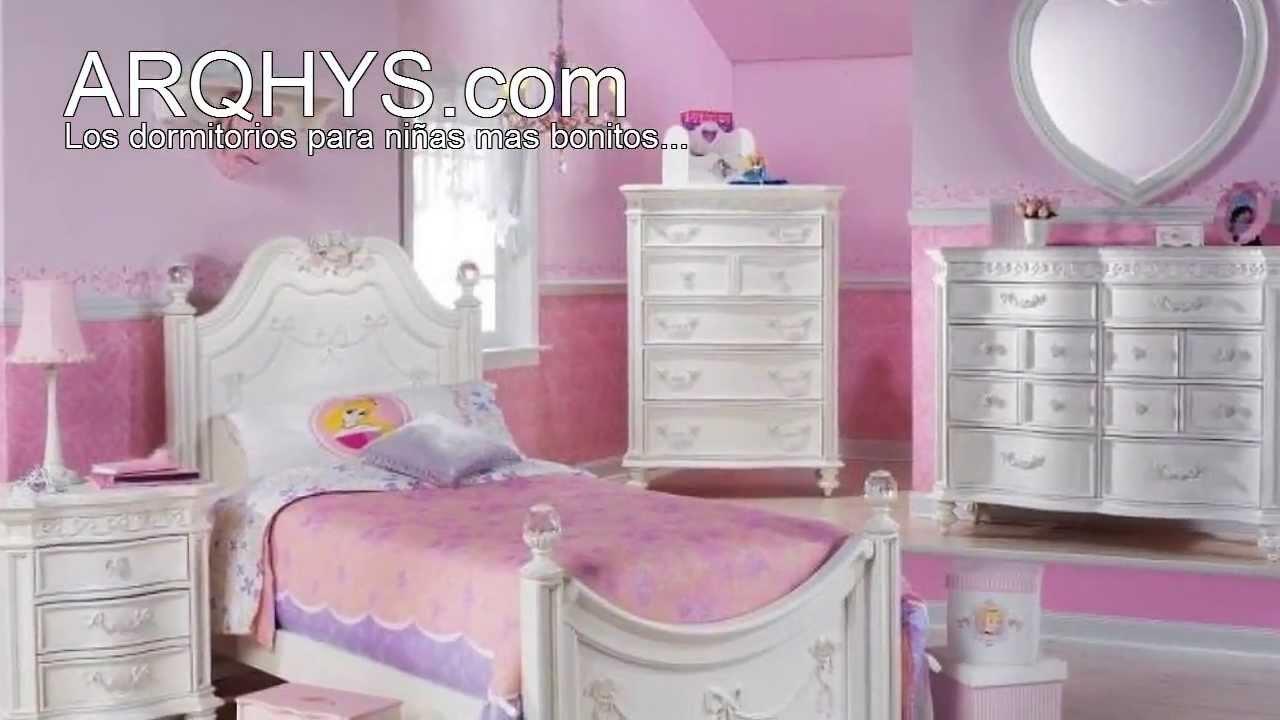 Los dormitorios para niñas mas bonitos del mundo - YouTube
