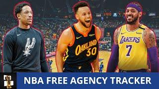 NBA Free Agency Winners & Losers + Day 2 Tracker Ft. DeMar DeRozan, Carmelo Anthony, Andre Drummond