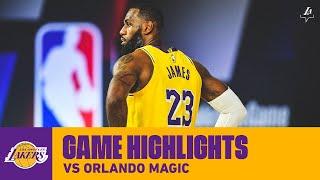HIGHLIGHTS | LeBron James (20 pts, 7 ast) vs. Orlando Magic