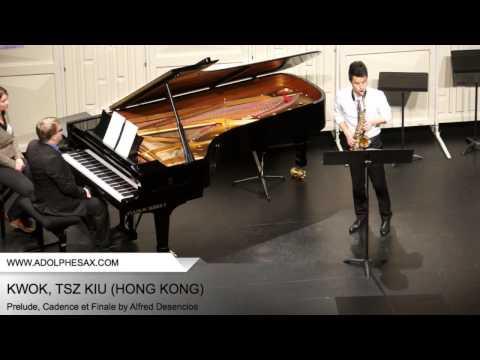 Dinant 2014 - Kwok, Tsz Kiu - Prelude, Cadence et Finale by Alfred Desenclos