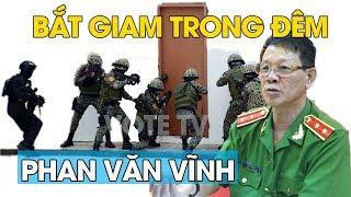 Trung tướng Phan Văn Vĩnh bị bắt trong cuộc đột kích ban đêm vào cơ sở đánh bạc có vũ trang