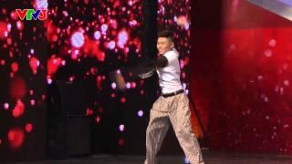 [Vietnam's got talent] Nhảy quay tay - Nguyễn Minh Cường