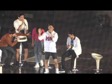 151010 EXO-Love concert 주사위게임 (첸,디오,레이,시우민)