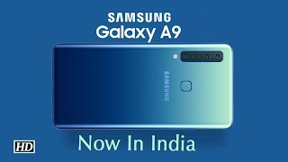 World's first 4-rear camera, Samsung Galaxy A9 launched in..