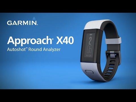 Garmin Approach X40 Golf GPS Band - Black