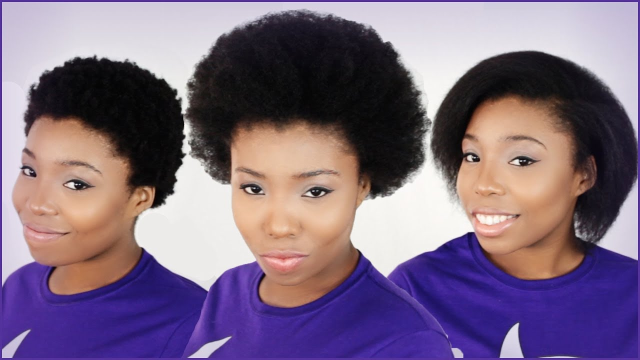 What Natural Hair Shrinkage Looks Like Before And After On