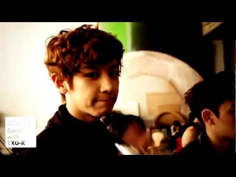 Chanyeol cuts from EXO-K AR Show with Genie