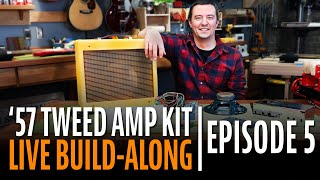 Watch the Trade Secrets Video, How to Build a Tube Amp Kit Step-by-Step (Episode 5)