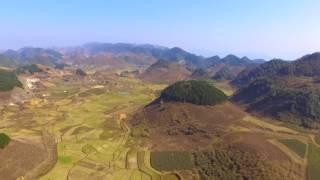 Việt Nam - Mộc Châu Sơn La from above - Cảnh đẹp dưới góc nhìn từ trên cao by Dji Phantom Standard