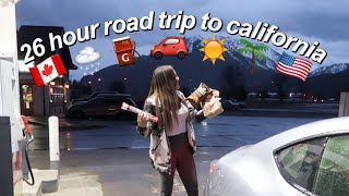 26 hour roadtrip to california vlog | maiphammy