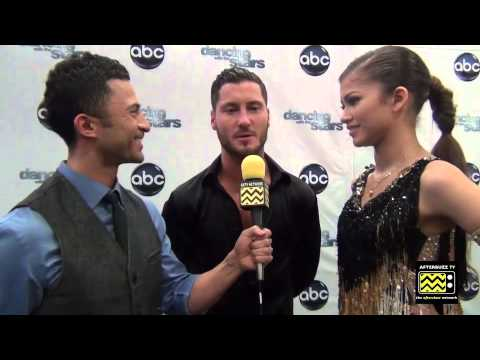 Dancing with the Stars - Zendaya & Val Chmerkovskiy AfterBuzz TV ...
