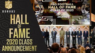 Hall of Fame Class of 2020 Announced!   2020 NFL Honors