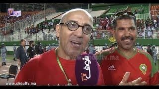 من قلب ملعب أبيدجان..حسن الفد في تصريح طريف بعد تأهل المنتخب المغربي..هاذي 20 عام