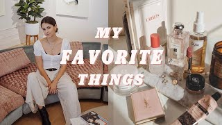 My Monthly Favorites