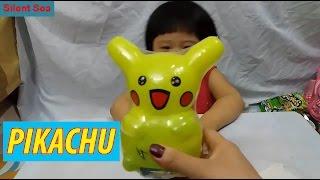 Nuôi Pikachu Điều Bất Ngờ Khi Gia Linh Chăm Sóc Nuôi Dưỡng Pikachu