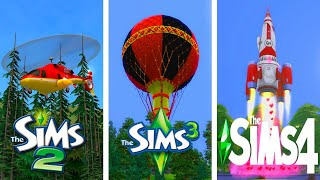 ♦ Sims 2 - Sims 3 - Sims 4 : Unique WooHoo Spots (2020)