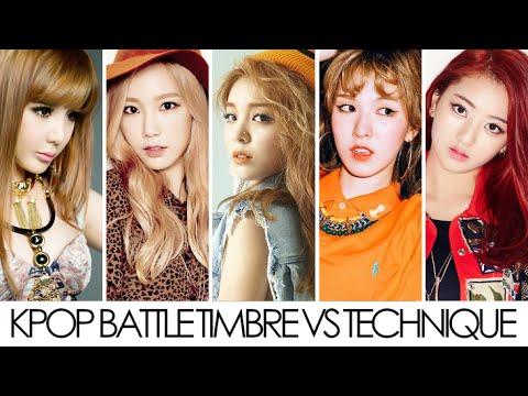 Kpop Battle Timbre VS Technique (Female)