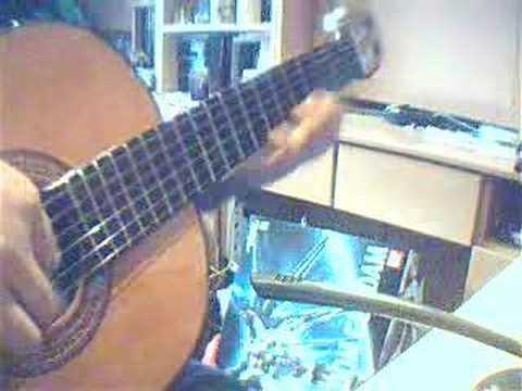 Nicholas Teo - Tears of polaris 张栋梁 - 北极星的眼泪 Guitar Solo