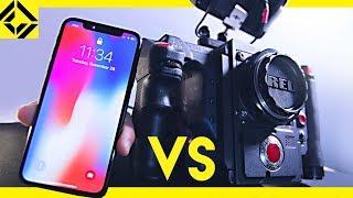 iPhone X vs. Pro Movie Camera