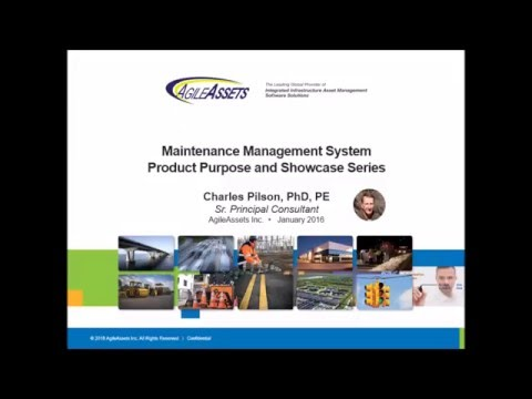 AgileAssets® Maintenance Manager™ - Product Showcase Series