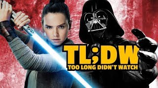 Every Star Wars Movie Explained before The Last Jedi (Cram It!)