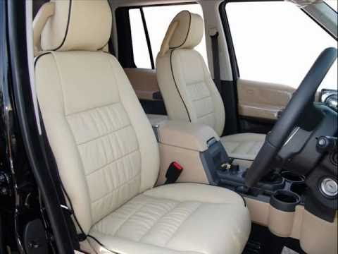 Bespoke leather interior for land rover discovery by the - Range rover with red leather interior ...