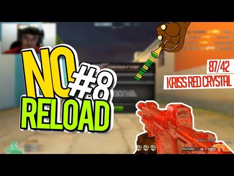 Baixar [CF] No Reload #8 - Kriss Red Crystal, Kika não Doido !