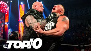 The Undertaker's Most Destructive Table Moves (WWE Top 10)