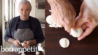 Jacques Pépin Makes a Mushroom Fish