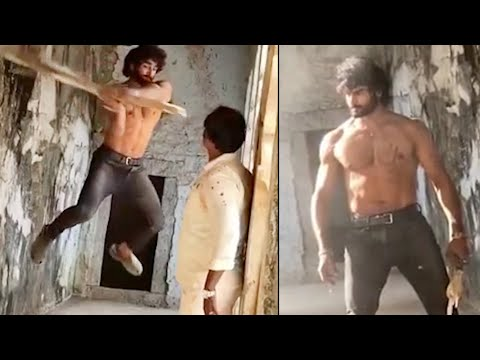 Sudheer Babu's Sridevi Soda Center movie making video