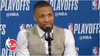 'It really happened' - Damian Lillard on series-clinching, buzzer-beater vs. OKC | 2019 NBA Playoffs