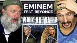 Montana Guys React To Eminem -Walk On Water (Audio) ft. Beyoncé