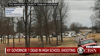 1 dead in high school shooting, Ky. governor says