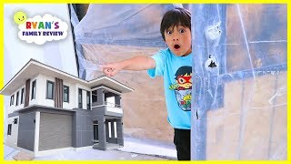 We Bought a New House!!! Ryan's Family Review New House Tour!!!