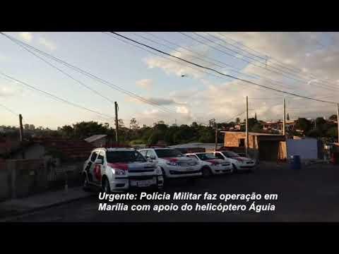 Polícia Militar faz operação em Marília