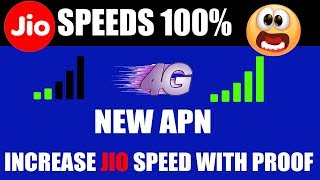 how to increase 4g speed in jio