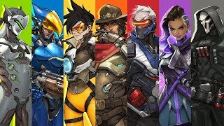 Overwatch All heroes and abilities