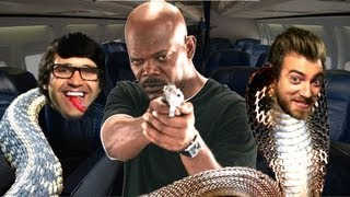 Snake on a Plane in Real Life