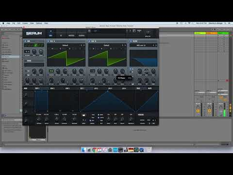 How To Make A DUBSTEP Styled Wobble Bass In SERUM