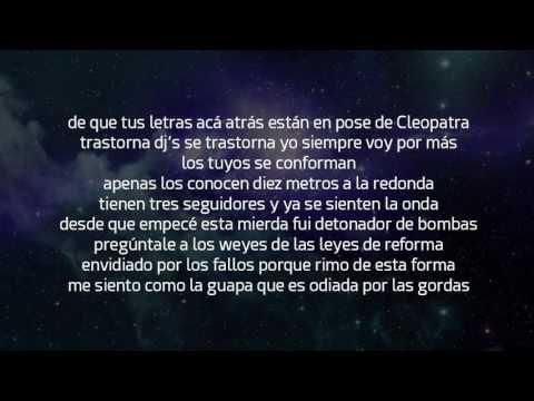 2.- Psicofonia- Aczino - El Fucking King (2013) Letra