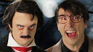 Stephen King vs Edgar Allan Poe. Epic Rap Battles of History.