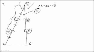 Geometry Problem 9 REVISED GRE MATH REVIEW OFFICIAL GUIDE
