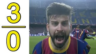 Barcelona vs Sevilla 3-0 Highlights & Goals 2021