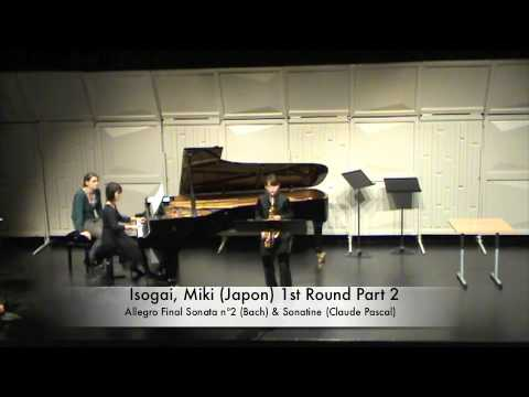 Isogai, Miki Japon 1st Round Part 2